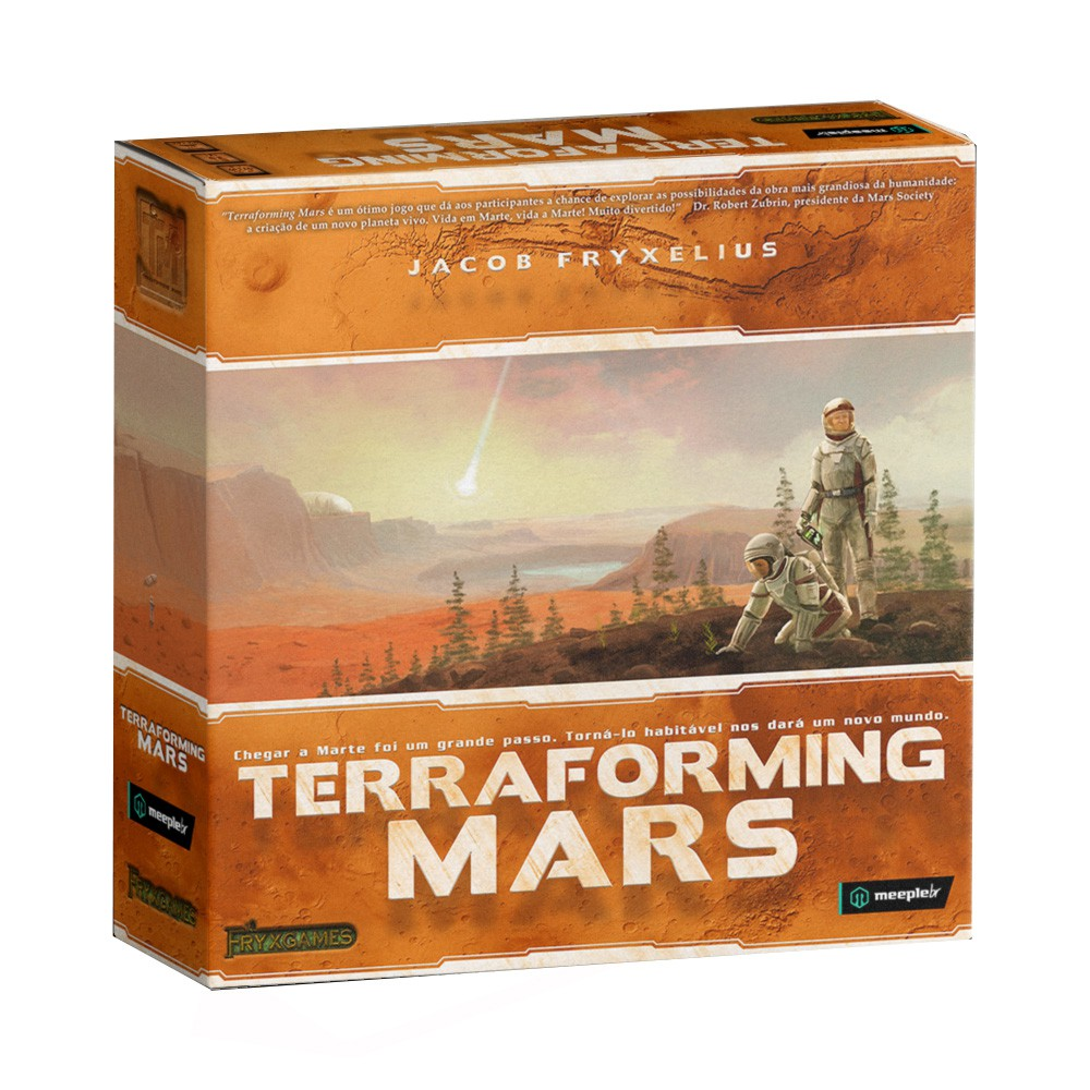 Terraforming Mars Jogo de Tabuleiro Meeple BR  - Place Games