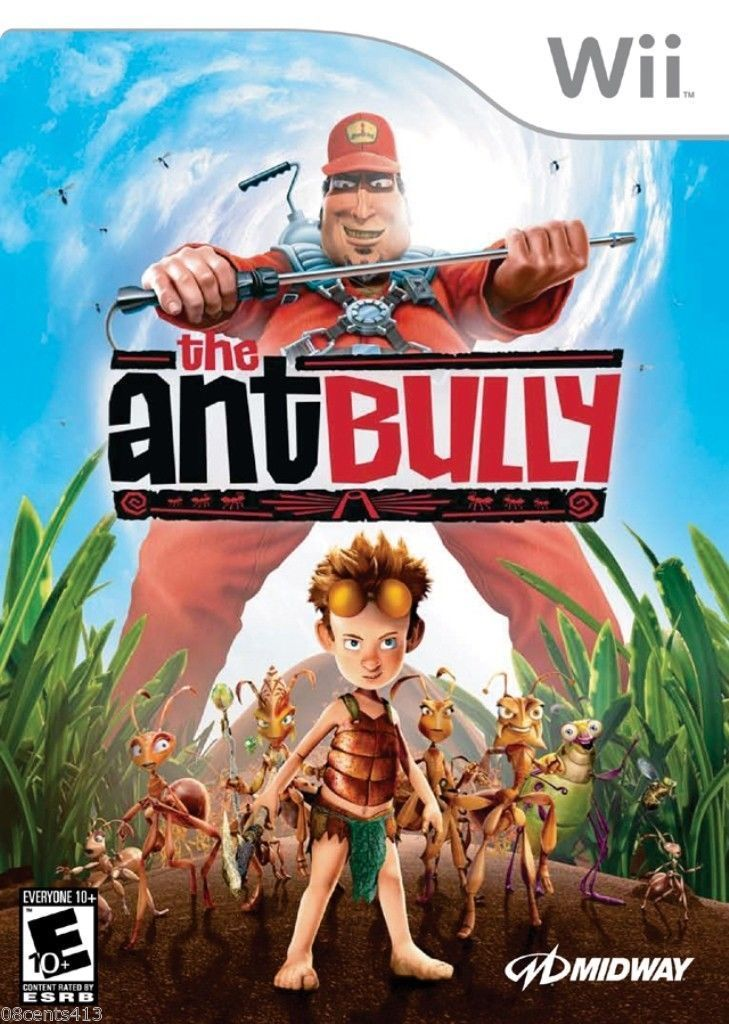 The Ant Bully Wii Usado Original  - Place Games