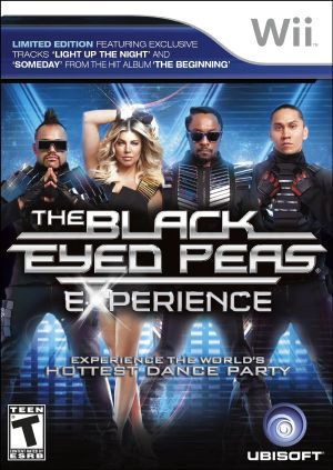 The Black Eyed Peas - Experience Wii Usado Original  - Place Games