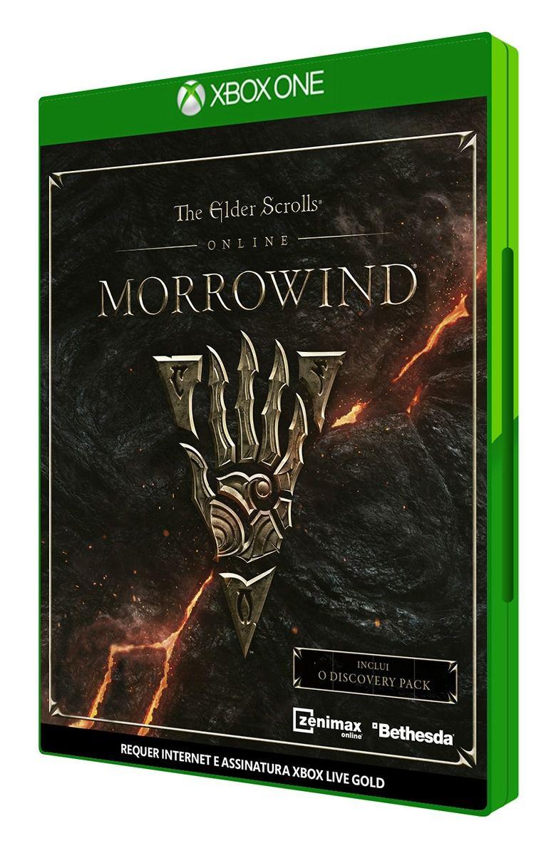 The Elder Scrolls Online Morrowind Xbox One Original Lacrado  - Place Games