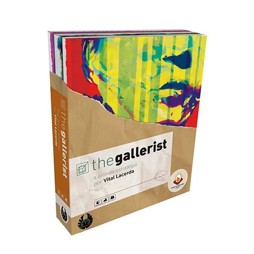 The Gallerist A arte da estratégia Fire on Board  - Place Games