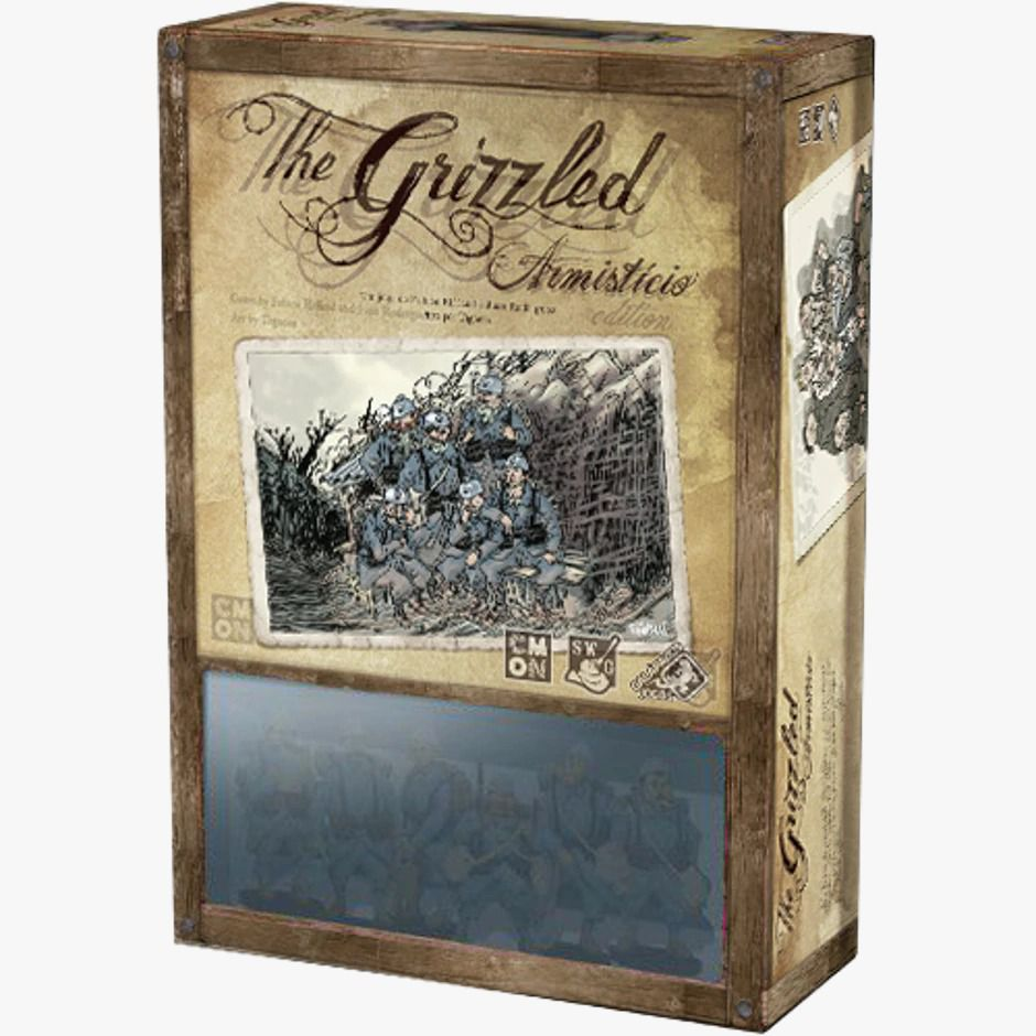 The Grizzled Armistício Jogo de Tabuleiro Galapagos GRZ001  - Place Games
