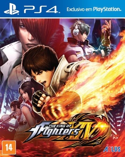 The King of Fighters XIV Playstation 4 Original Lacrado  - Place Games