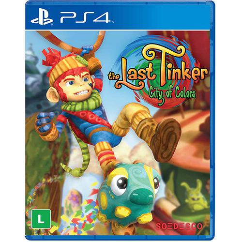 The Last Tinker city of color Playstation 4 Original Lacrado  - Place Games