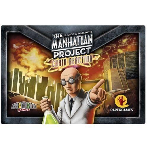 The Manhattan Project: Chain Reaction Jogo de Cartas PaperGames J013  - Place Games