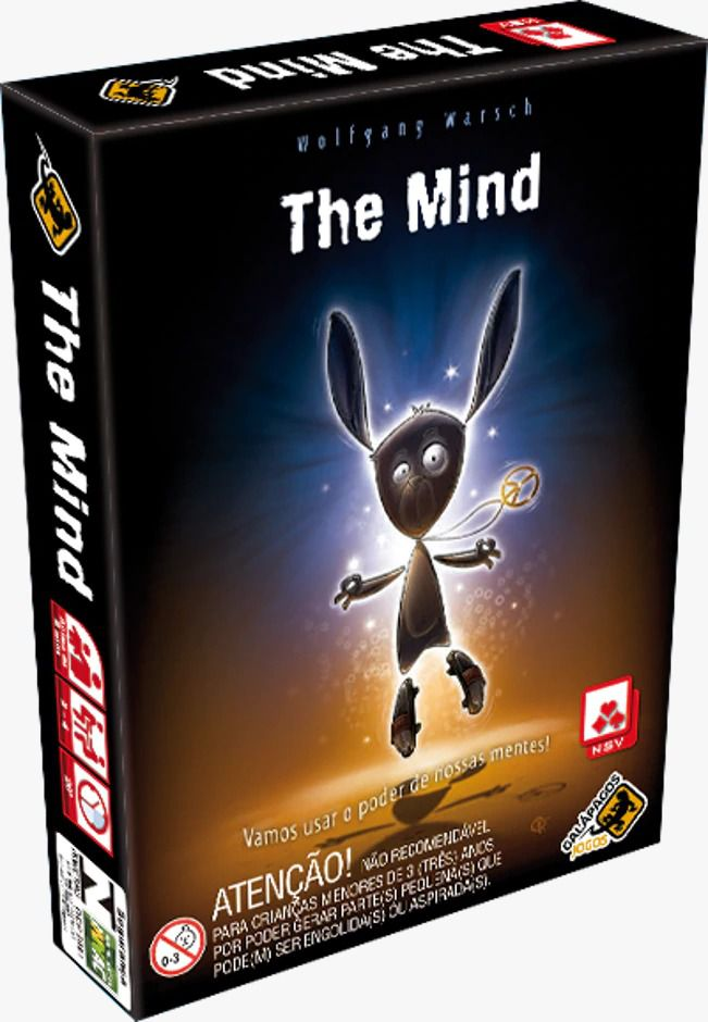 The Mind Jogo de Cartas Galapagos TMI001  - Place Games