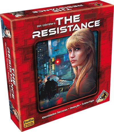 The Resistance Jogo de Cartas Galapagos RES001  - Place Games