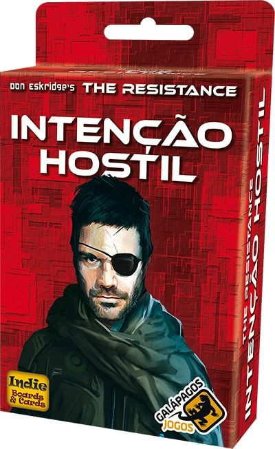 The Resistance Intenção Hostil Expansão Galapagos RES002  - Place Games
