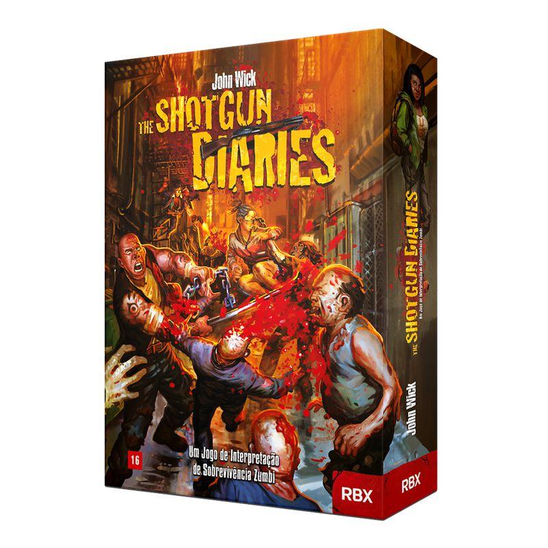 The Shotgun Diaries Kit de RPG Red Box RBX02006  - Place Games