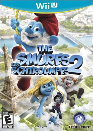The Smurfs 2 Nintendo Wii-U Original Lacrado  - Place Games