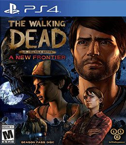 The Walking Dead A New Frontier PS4 Original Usado  - Place Games