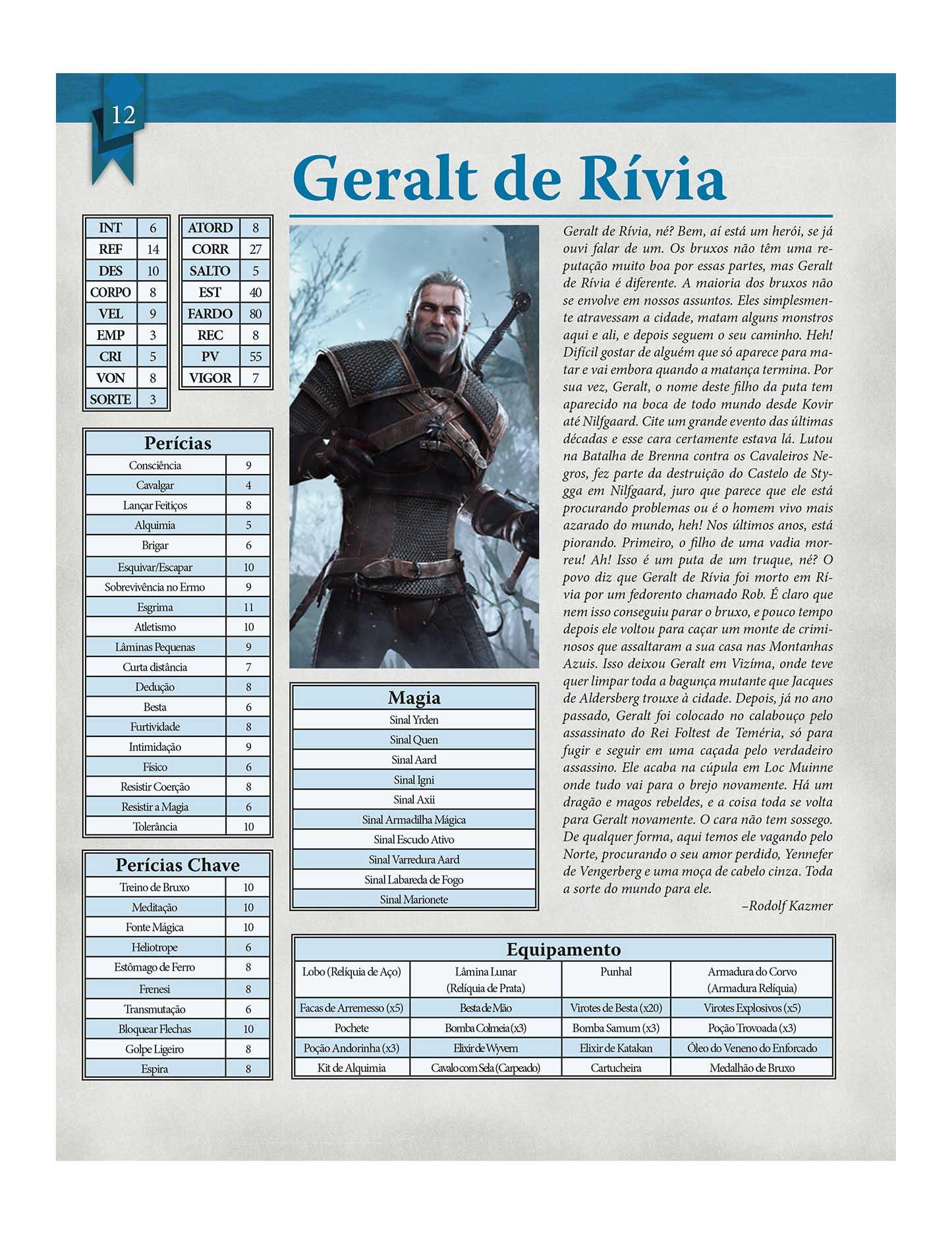 The Witcher RPG Livro De RPG Devir DVRTG0001  - Place Games