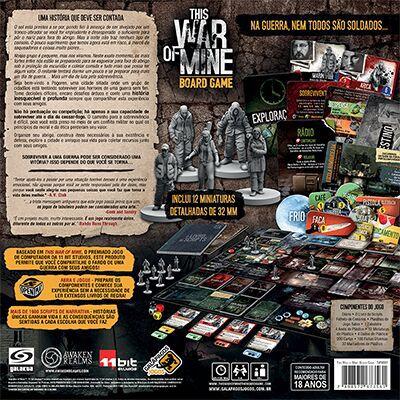 This War is Mine Jogo de Tabuleiro Galapagos TWM001  - Place Games