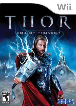 Thor - God of Thunder Wii Usado Original  - Place Games