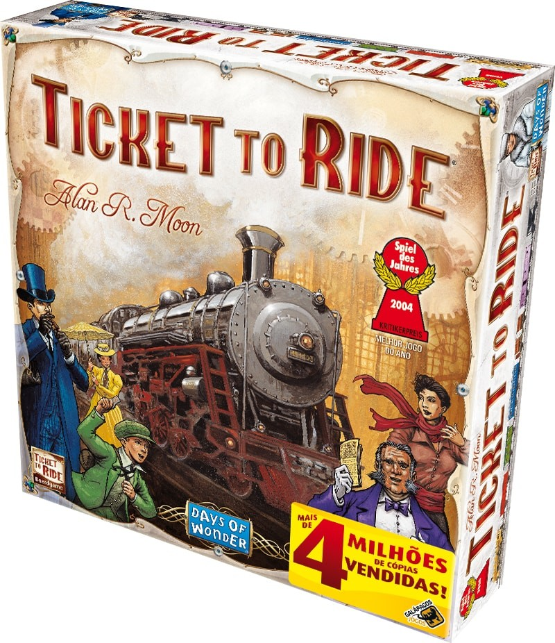 Ticket To Ride Galápagos Jogos  - Place Games