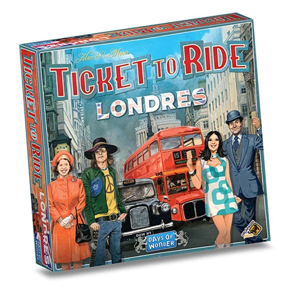 Ticket to Ride Londres Jogo de Tabuleiro Galapagos TTR006  - Place Games