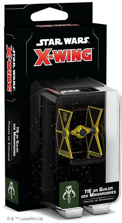 TIE da Guilda dos Mineradores Expansão X-Wing 2.0 Wave 2 Galapagos SWZ023  - Place Games