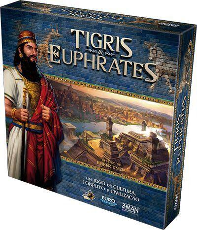 Tigris e Euphrates Jogo de Tabuleiro Galapagos TEE001  - Place Games