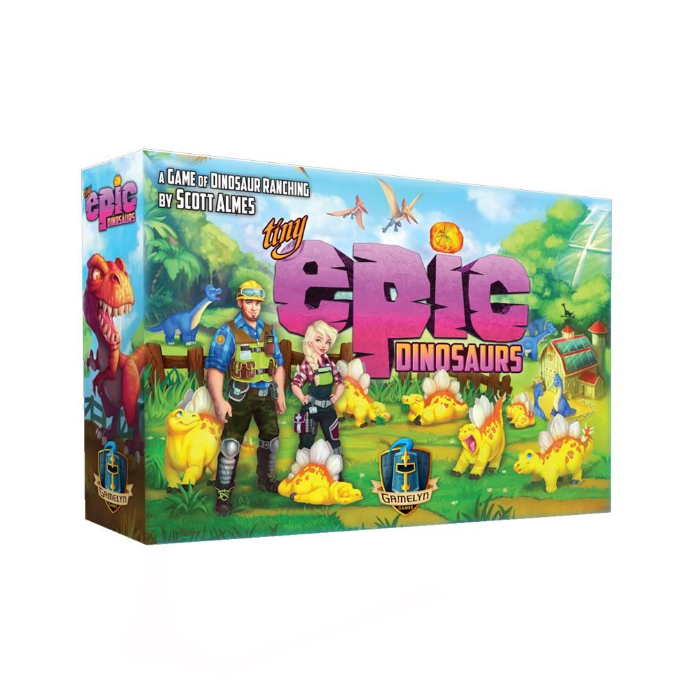Tiny Epic Dinosaurs Jogo de Tabuleiro Importado Gamelyn Games TEDi01  - Place Games