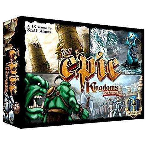 Tiny Epic Kingdoms 2a Edição Jogo de Tabuleiro Importado Gamelyn Games TEK01  - Place Games