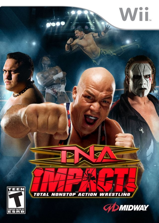 TNA Impact Wii Usado Original  - Place Games