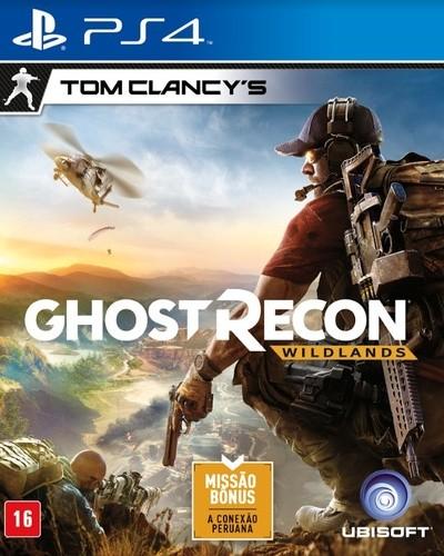 Jogo Tom Clancys: Ghost Recon Wildlands - PS4  - Place Games