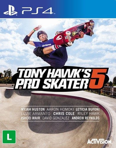 Tony Hawk Pro Skater 5 Playstation 4 Original Lacrado  - Place Games