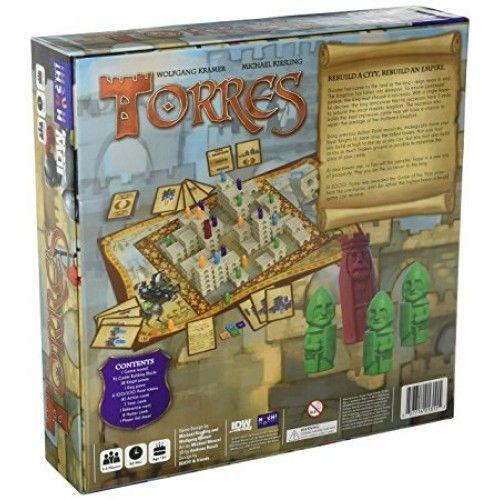 Torres Jogo de Tabuleiro Devir BGTORRES  - Place Games