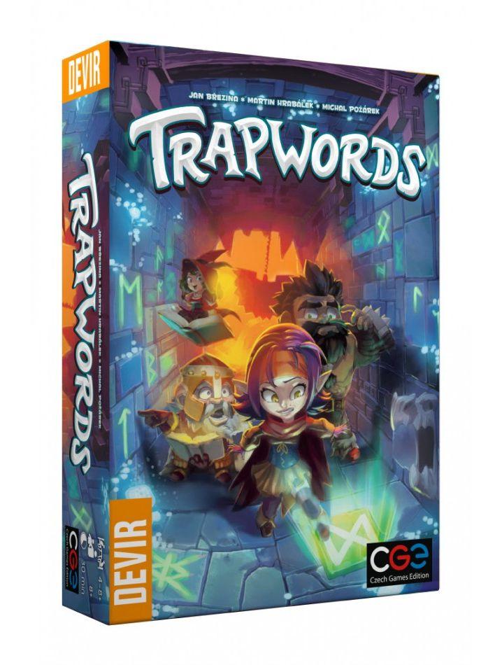 Trapwords Jogo de Tabuleiro Devir BGTRAPPT  - Place Games