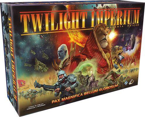 Twilight Imperium 4a edição Jogo de Tabuleiro Galapagos TWI001  - Place Games