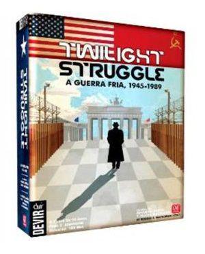 Twilight Struggle A Guerra Fria Jogo de Tabuleiro Devir BGTS  - Place Games