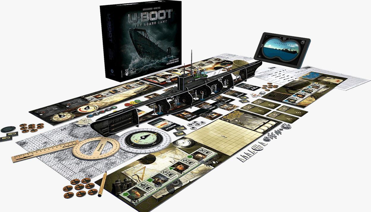 U-Boot Board Game o Jogo de Tabuleiro Galapagos UBT001  - Place Games