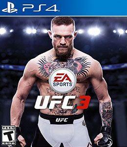 UFC 3 PS4 Original Usado  - Place Games