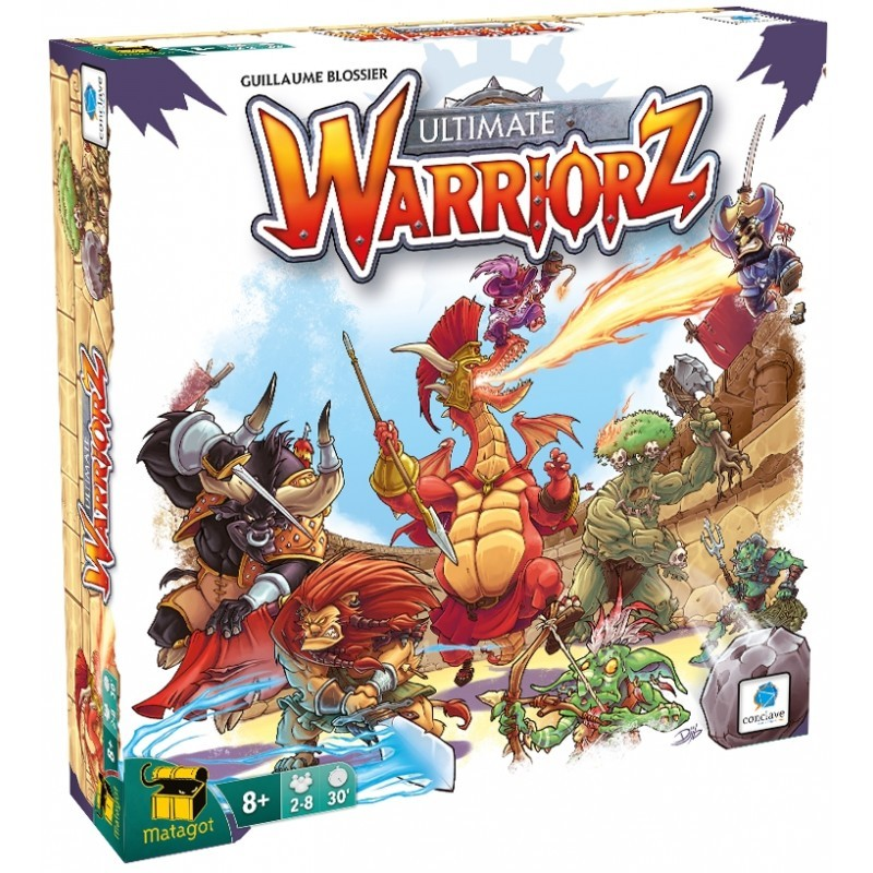 Ultimate Warriorz Jogo de Tabuleiro Conclave   - Place Games