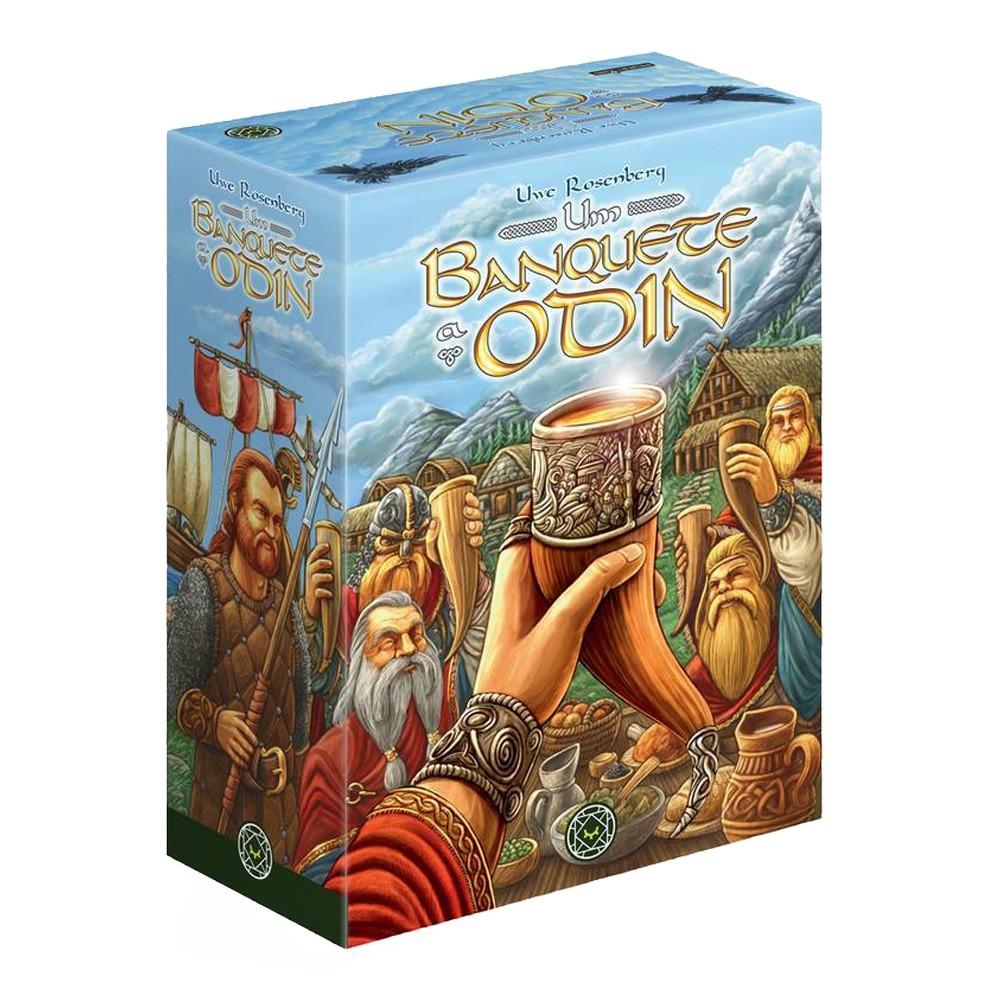 Um Banquete a Odin Jogo de Tabuleiro Mandala MDL0015  - Place Games