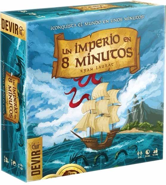 Um Império em Oito Minutos Jogo de Tabuleiro Devir BGOITO  - Place Games
