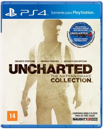 Uncharted Collection Playstation 4 Original Usado  - Place Games
