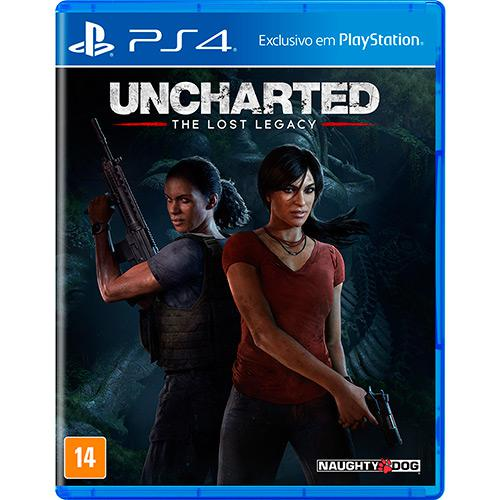 Uncharted The Lost Legacy Playstation 4 Original Usado  - Place Games