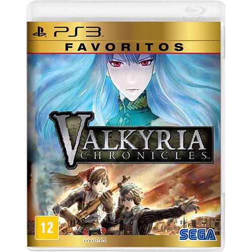 Valkyria Chronicles Favoritos Playstation 3 Original Lacrado  - Place Games