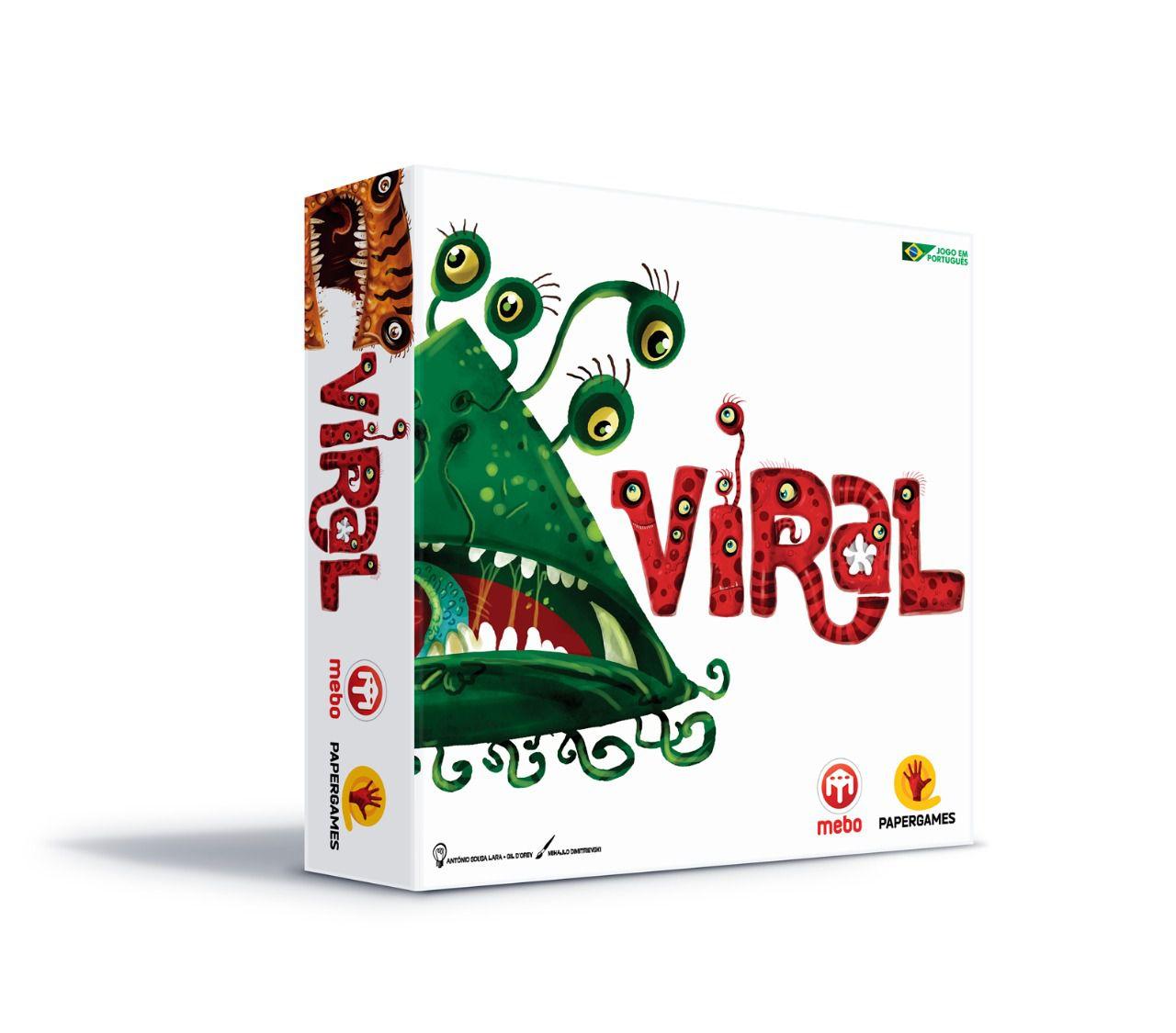 Viral + Expansão Cartas Promocionais Jogo de Tabuleiro PaperGames J022 P002  - Place Games