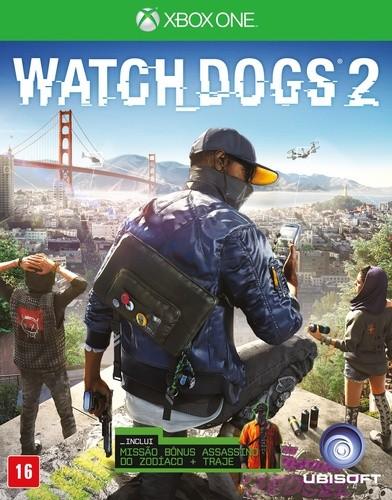 Watch Dogs 2 Xbox One Original Usado  - Place Games