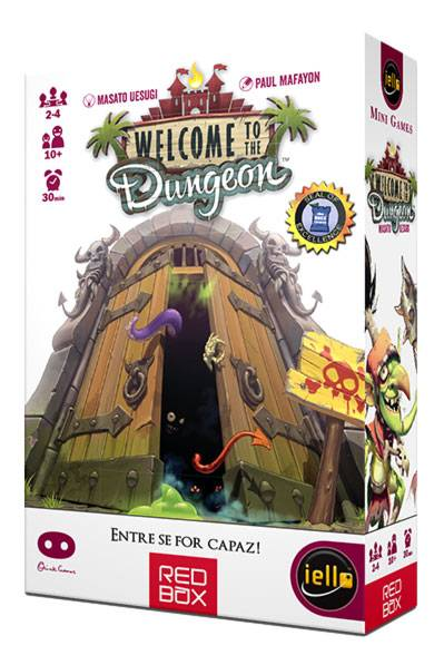 Welcome to the Dungeon Jogo de Cartas Red Box RBX151  - Place Games
