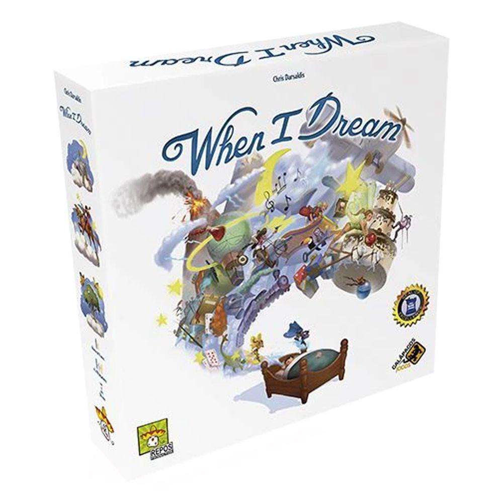When I Dream Jogo de Tabuleiro Galapagos WID001  - Place Games