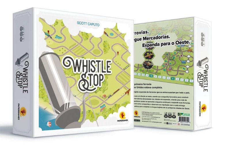Whistle Stop Jogo de Tabuleiro PaperGames J029  - Place Games