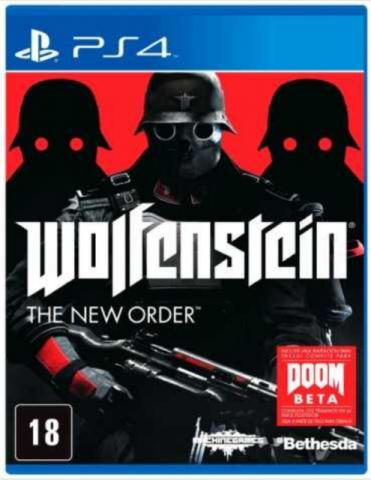 Wolfenstein Playstation 4 Original Usado  - Place Games