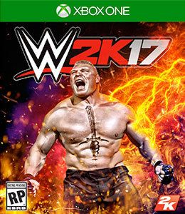 WWE W2k17 Xbox One Original Usado  - Place Games