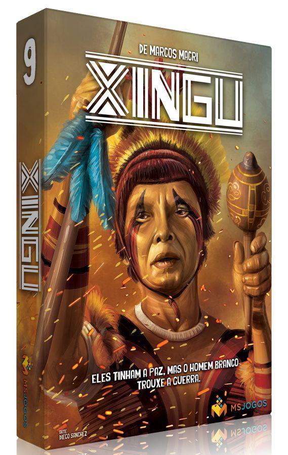 Xingu Jogo de Tabuleiro MS Jogos  - Place Games