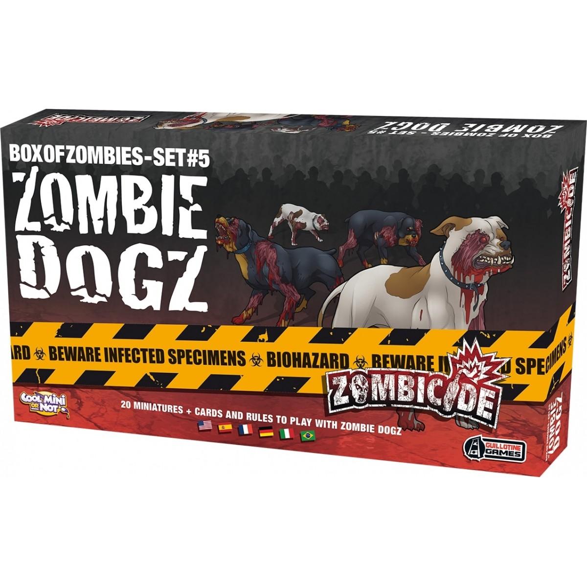 Zombicide Dogz Expansão de Jogo Galapagos ZOM119  - Place Games