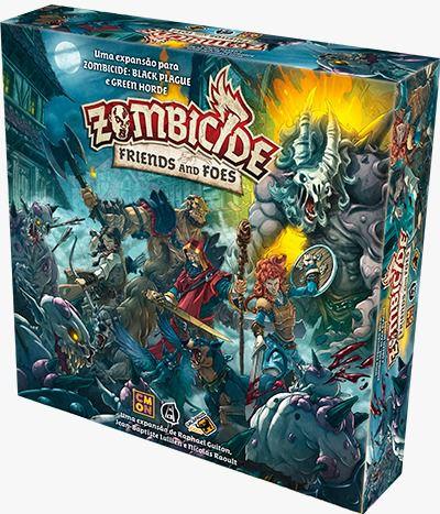 Zombicide Green Horde Friends and Foes Expansão de Jogo de Miniaturas Galapagos ZOM205  - Place Games