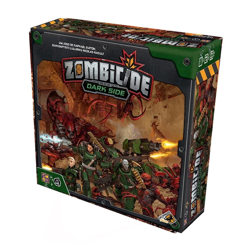 Zombicide Invader + Dark Side Jogo de Tabuleiro Galapagos  - Place Games